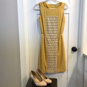 ANTONIO MELANI mustard dress